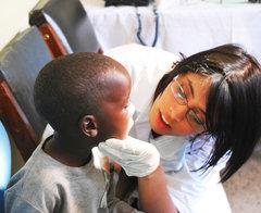 Oral health check up in Tanzania