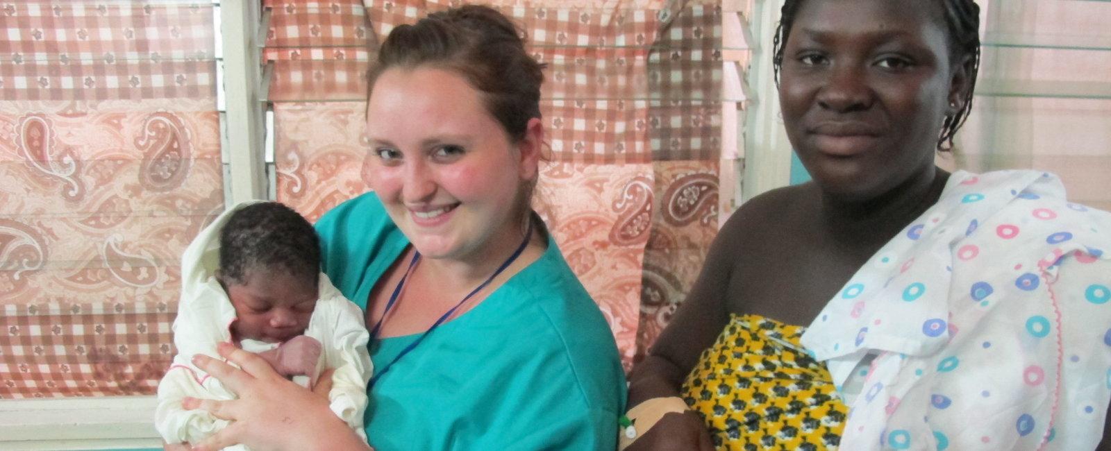 Tiggy Claustres - Midwifery Electives in Ghana Takoradi