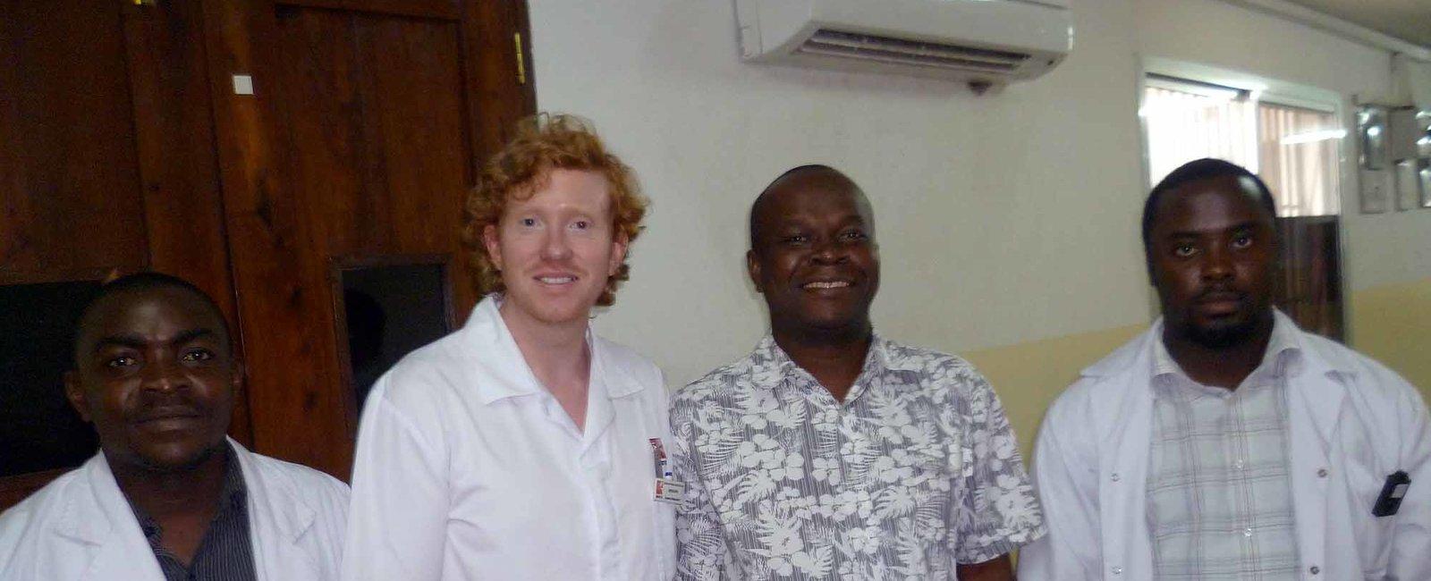 David Evans - Radiography Electives in Tanzania Dar es Salaam