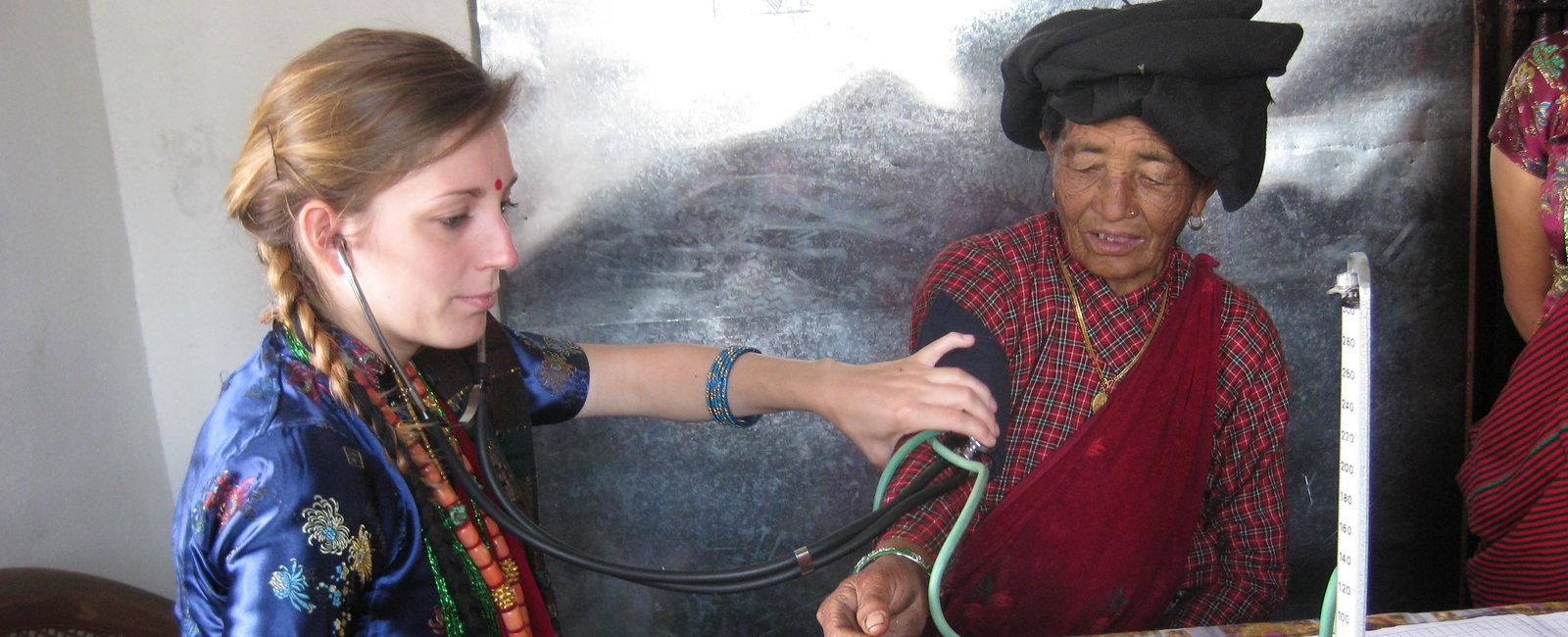 Katie Scales - Nursing Electives in Nepal Pokhara