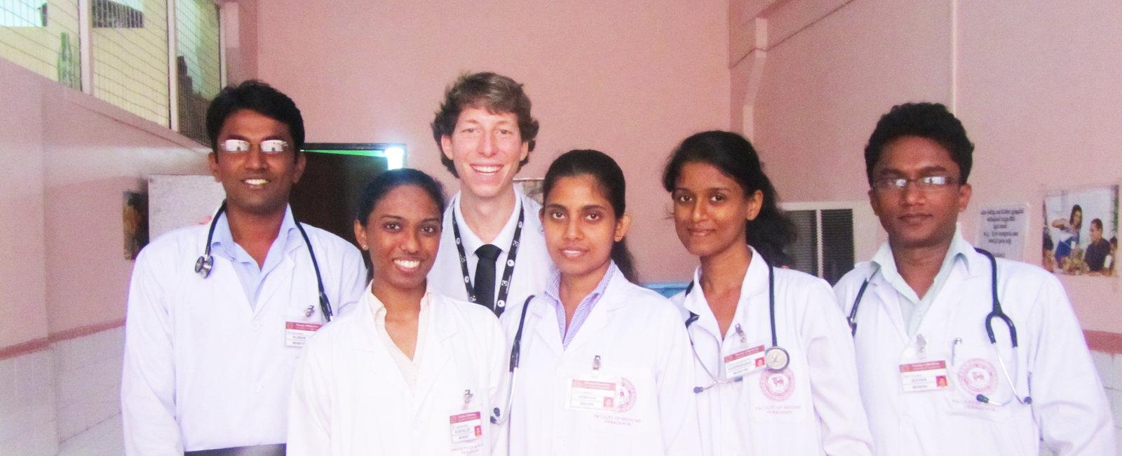 Mitch Wilson - Medical Electives in Sri Lanka Kandy