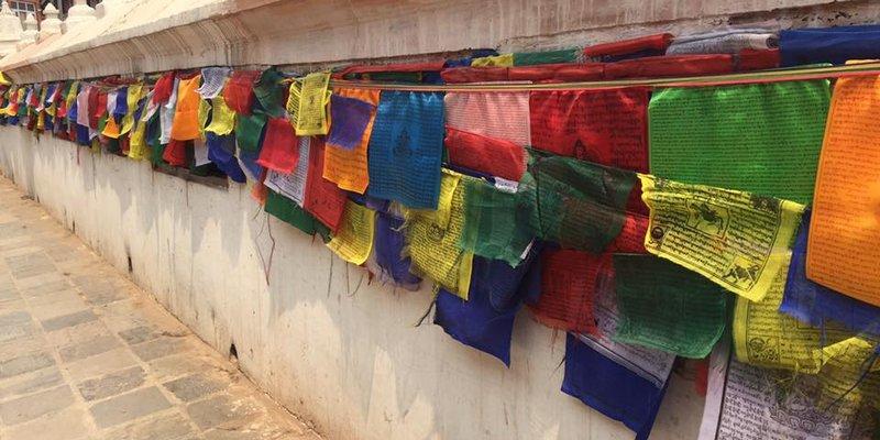 Blog Images - Navin Prayer flags