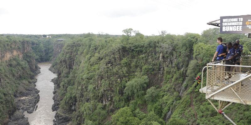 Bungee jumping - Livingstone